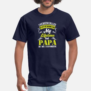 Papa And Grandson papa is best name i called with ever - Men's T-Shirt
