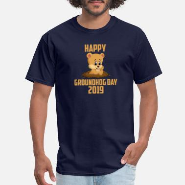 Groundhog Happy Groundhog Day 2019 - Men's T-Shirt