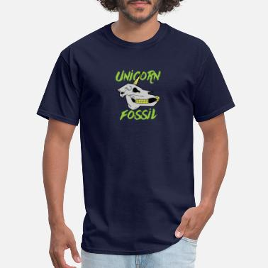 Fossils Kids UNICORN FOSSIL - Men's T-Shirt