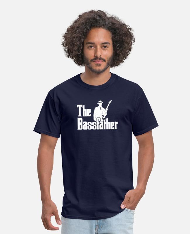 Bass Player Gift The Bassfather Funny Gift for Bass Guitarist T Shirt