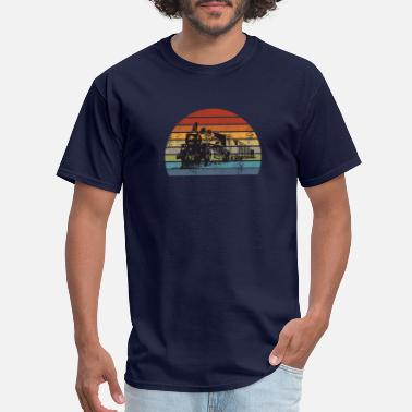 Trains trains - Men's T-Shirt