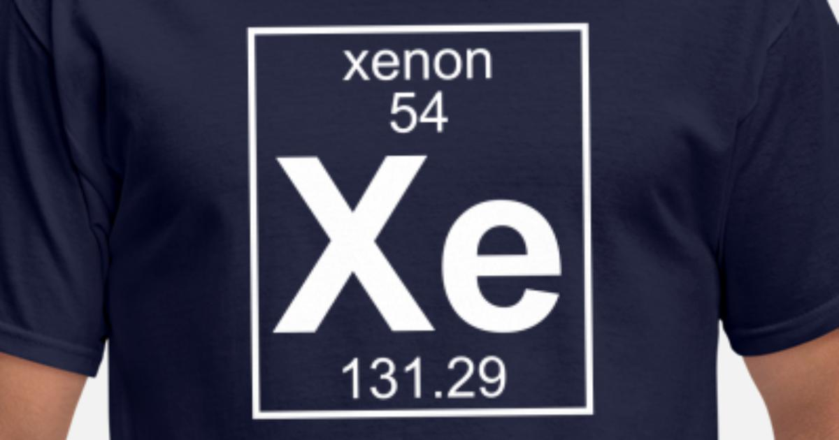 252bc74e Element 54 - Xe (xenon) - Full Men's T-Shirt | Spreadshirt