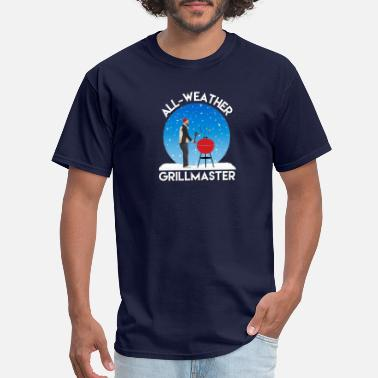 All weather grillmaster funny dad dedign - Men's T-Shirt