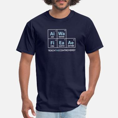 Sarcasm Elements Classical Element Periodic Table - Men's T-Shirt