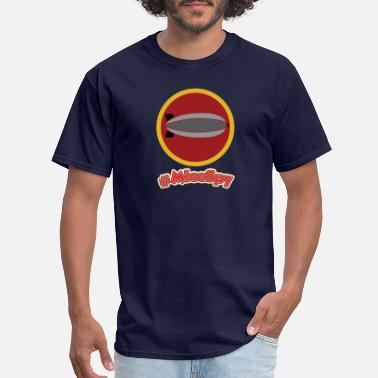 Zephyr Golden Zephyr Explorer Badge - Men's T-Shirt