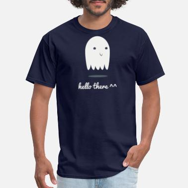 Hello Ween Ghost - hello there - Men's T-Shirt