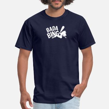 Gangster Animated Film Badabing Funny Movie Film Gangster Banter Old Time - Men's T-Shirt