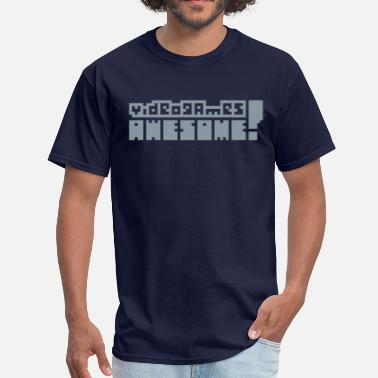 Videogames Awesome Video Games T-Shirts - Men's T-Shirt