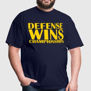Defense Wins Championships - Men's T-Shirt