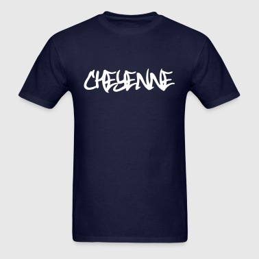 Cheyenne Graffiti - Men's T-Shirt