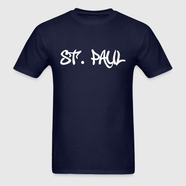 St Paul Graffiti - Men's T-Shirt