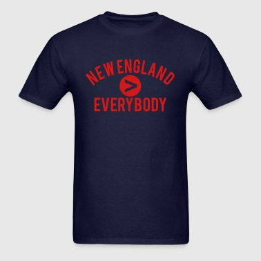 New England  Everybody - Men's T-Shirt