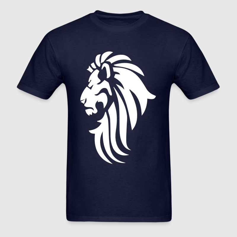 lion logo - Men's T-Shirt