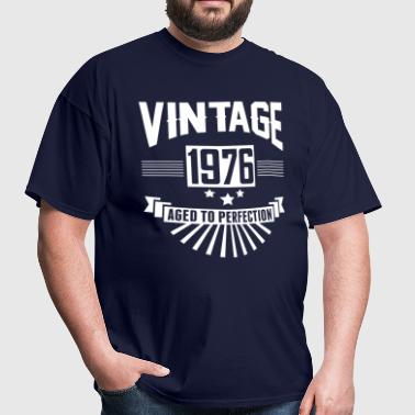 VINTAGE 1976 - Aged To Perfection - Men's T-Shirt