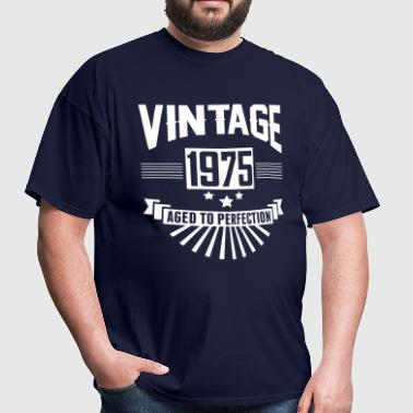 VINTAGE 1975 - Aged To Perfection - Men's T-Shirt