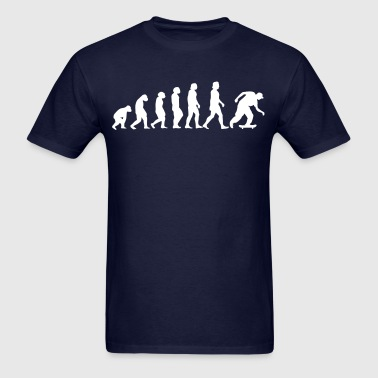 Evolution of man - Men's T-Shirt