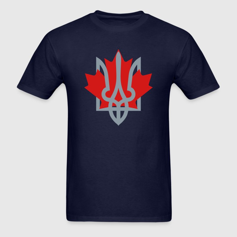 Canada and Ukraine - Men's T-Shirt