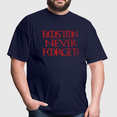 Boston Never Forgets - Men's T-Shirt
