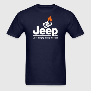 Jeep - Just Empty Every Pocket - Men's T-Shirt