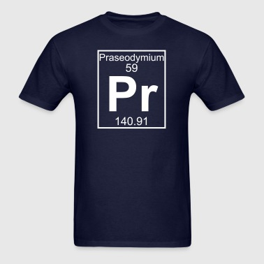 Element 59 - Pr (praseodymium) - Full - Men's T-Shirt