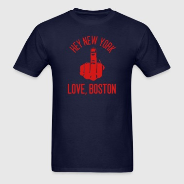Love, Boston - Men's T-Shirt