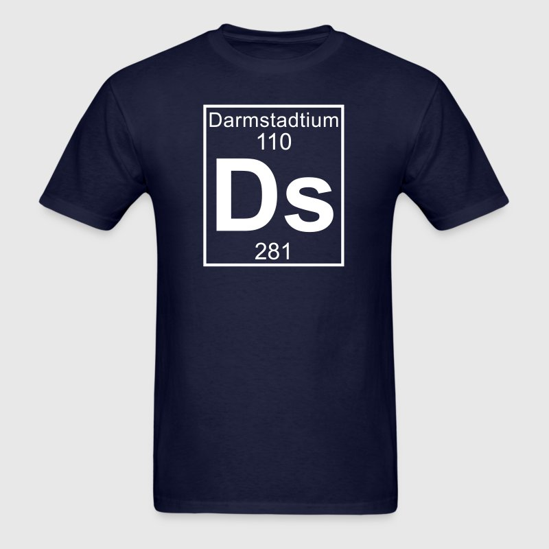 Element 110 - ds (darmstadtium) - Full - Men's T-Shirt