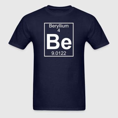 Element 4 - Be (beryllium) - Full - Men's T-Shirt
