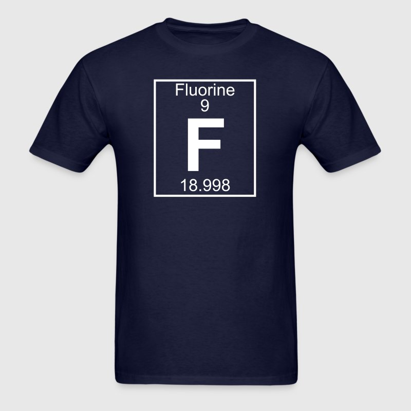 Element 9 - F (fluorine) - Full - Men's T-Shirt