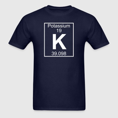 Element 19 - K (potassium) - Full - Men's T-Shirt