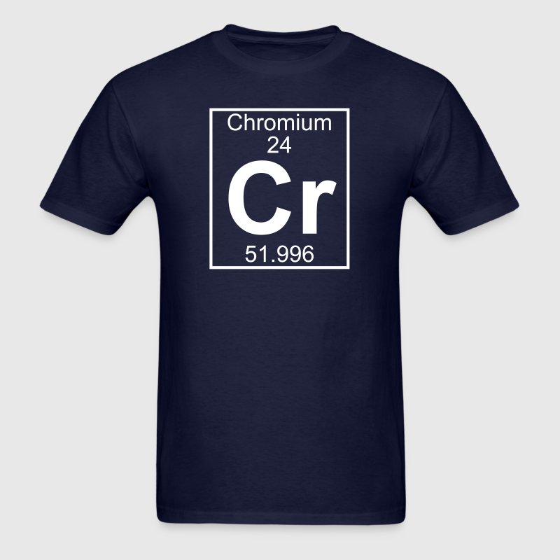 Element 24 - Cr (chromium) - Full - Men's T-Shirt