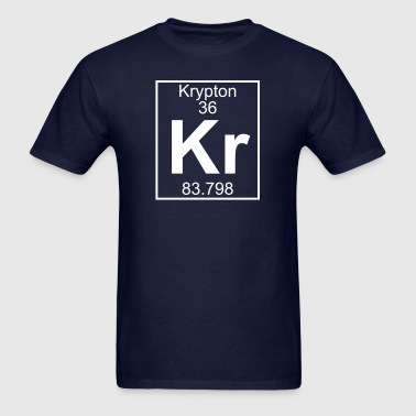 Element 36 - Kr (krypton) - Full - Men's T-Shirt