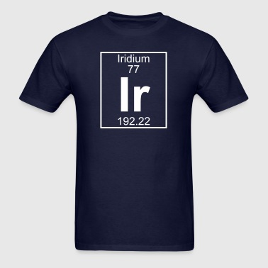 Element 77 - Ir (iridium) - Full - Men's T-Shirt