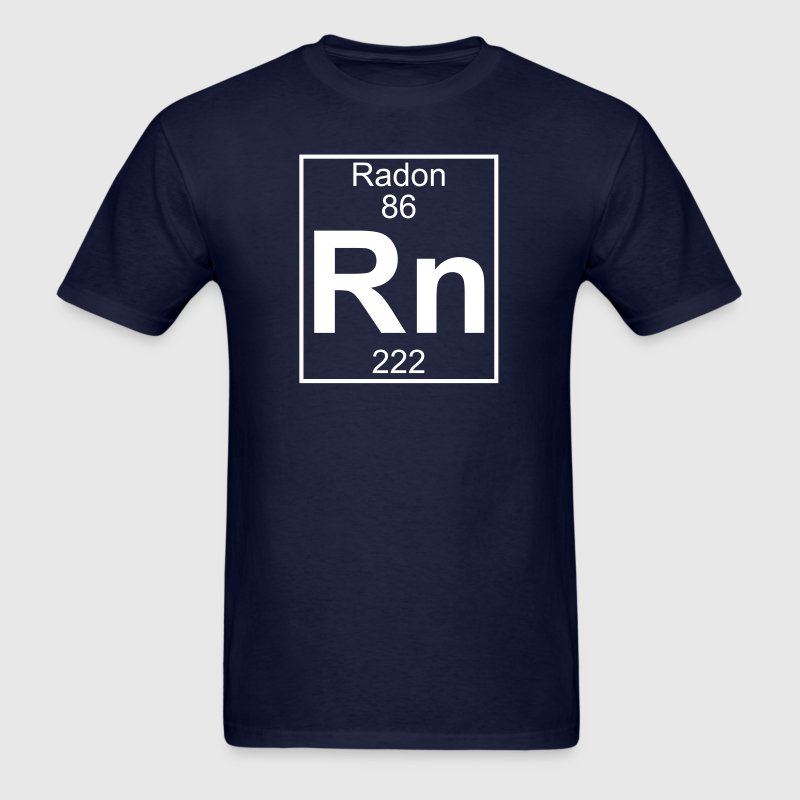 Element 86 - Rn (radon) - Full - Men's T-Shirt