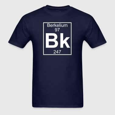 Element 97 - bk (berkelium) - Full - Men's T-Shirt