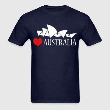 Love Australia - Men's T-Shirt