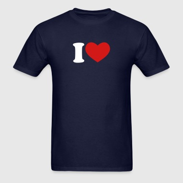 I Love / I Heart - Men's T-Shirt