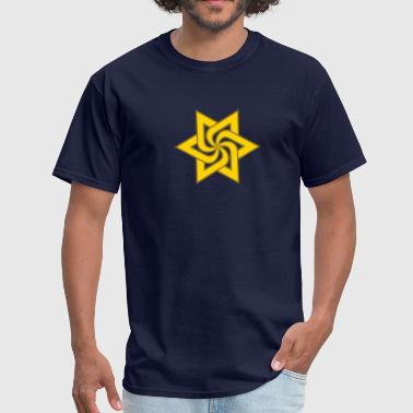 Raelian Star Symbol 2c - Men's T-Shirt