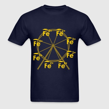 Ferrous Wheel (no text) - Men's T-Shirt