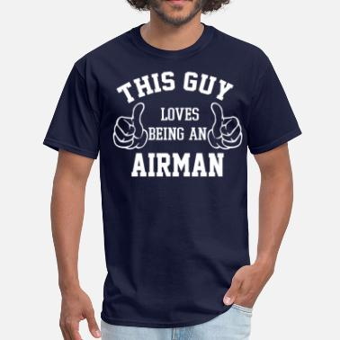 For Airman Airman - Men's T-Shirt