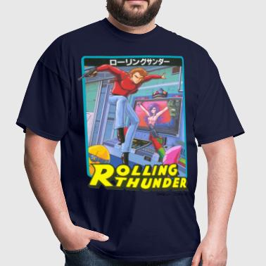 Rolling Thunder - Men's T-Shirt