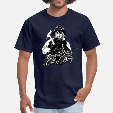 Firefighter Duty Firefighter call of duty - Men's T-Shirt