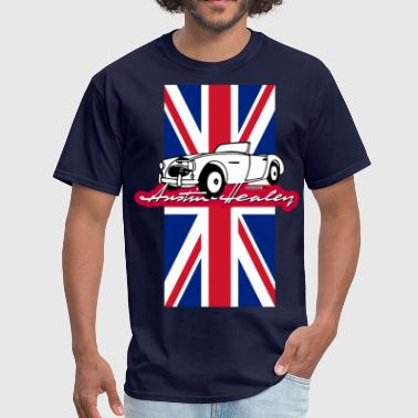 Healey Classic Austin-Healey script and illustration - Men's T-Shirt