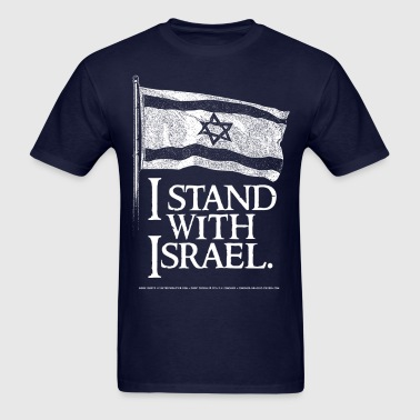 I Stand With Israel - Men's T-Shirt