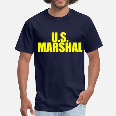 Police Or Fbi Agent Or Us Marshal US Marshal (3) - Men's T-Shirt