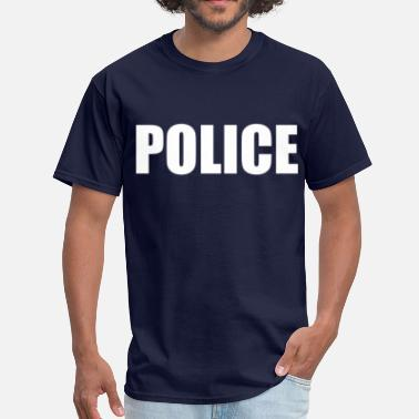 Police Or Fbi Agent Or Us Marshal Police (2) - Men's T-Shirt