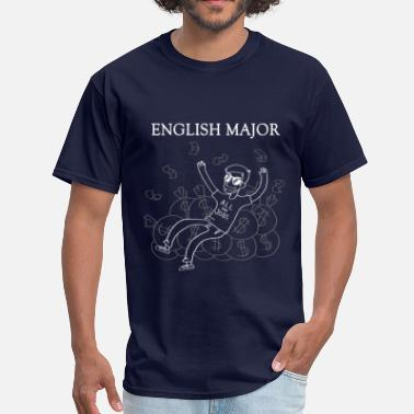 College Major English Major - Men's T-Shirt