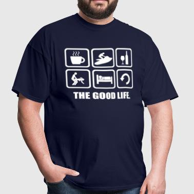 Jetski The Good Life - Men's T-Shirt