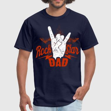 rockstar dad - Men's T-Shirt