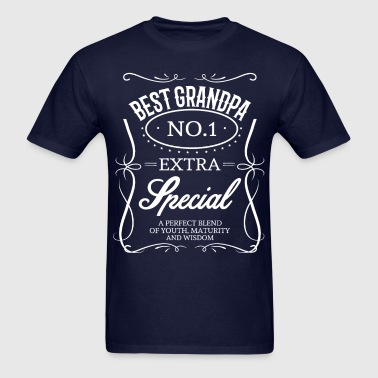BEST GRANDPA - Men's T-Shirt