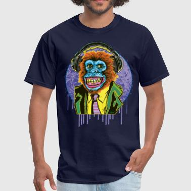 Chimp Suit Headphones - Men's T-Shirt